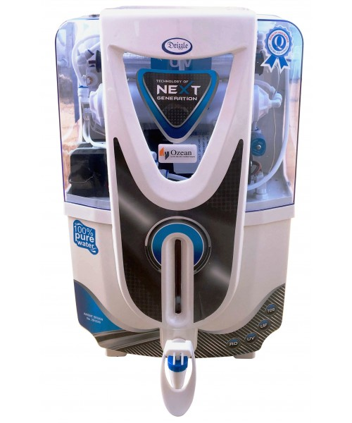 Drizzel RO UV UF Electric Water Purifier,White