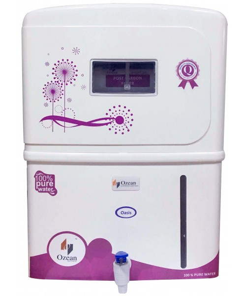 Oasis RO UV UF Electric Water Purifier, pink