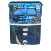 Gold RO UV UF Electric Water Purifier, Blue