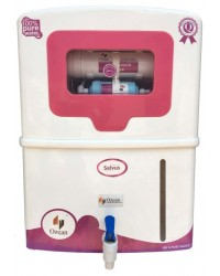 Salvus RO UV UF Electric Water Purifier, pink