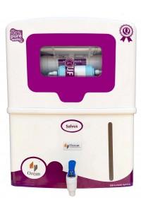 Salvus RO UV UF Electric Water Purifier, Purple